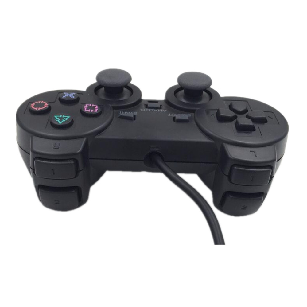Lnop Wired Gamepad For Ps2 Controller Sony Playstation 2 Joystick Console Double Vibration Shock Joypad