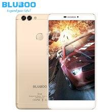 Оригинальные bluboo двойной смартфон android 6.0 mtk67637t quad core мобильного телефона 2 ГБ + 16 ГБ 13MP Двойной Задней Камеры 4 Г LTE Mobile телефон