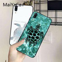MaiYaCa морская черепаха Аква Мягкий ТПУ узор чехол для телефона задняя крышка Coque для iphone 5 5s 5c SE и 6 6s 7 7plus 8 8plus чехол для телефона