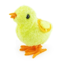 2018 Lovely And Cute Cartoon Chick Wind Up Clockwork Toys Kids Plush Wind-up Walking Toys Delivery Random S2