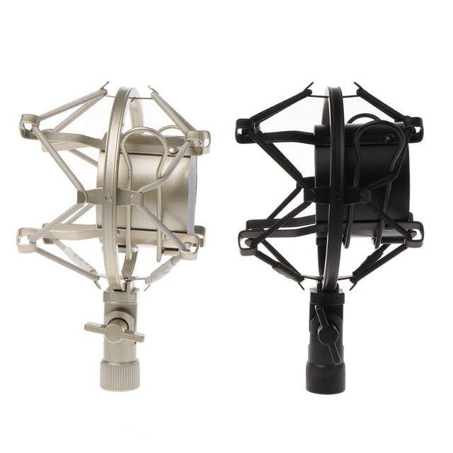Universal 50mm Microphone Shock Mount for 48mm-54mm Diameter Condenser Mic