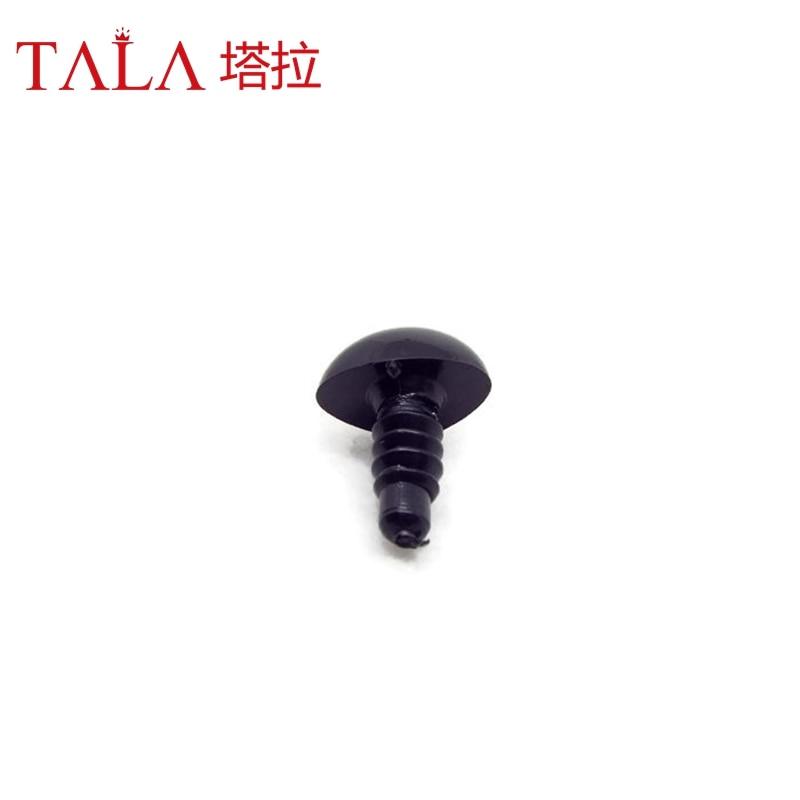 50pcs 4.5mm-26mm Hitam Plastik Keselamatan Hidung Untuk Mainan Datang - Boneka dan mainan lunak - Foto 6