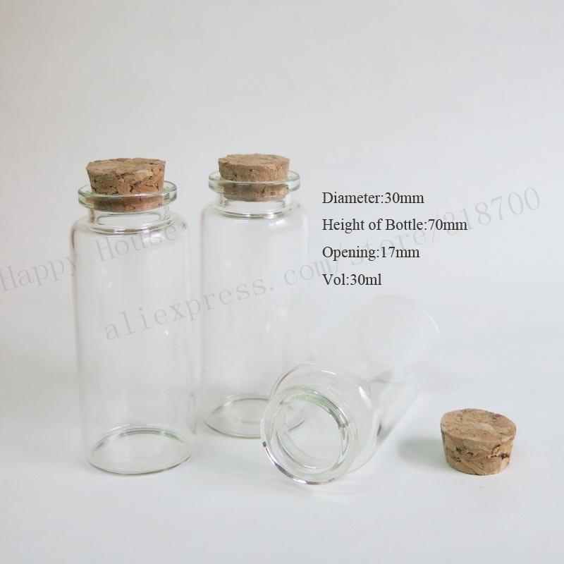 S Stoppered Glass Bottle