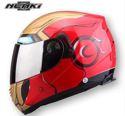 Racing Iron-ManFull Face Motorhelm Winter Spider Heren Dubbele lens - Motoraccessoires en onderdelen - Foto 2