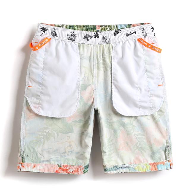 Gailang Brand Men's Beach Board Shorts Swimwear Swimsuits Boardshorts Quick Drying Casual Men Boxer Trunks Short Bottoms Bermuda