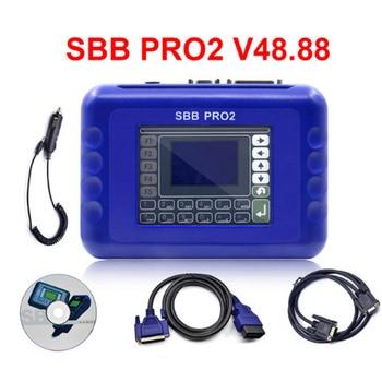 Latest SBB V33.02 / SBB V48.88 Key Programmer New Updated to Silca SBB V48.88 Can Support New Car to 2017 48.88 PRO2 Transponder