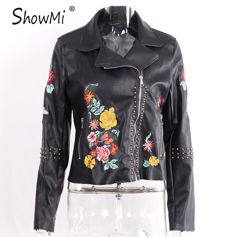 HTB17VTDQFXXXXckXpXXq6xXFXXX2 - Floral Coat Zipper Flower Embroidered Jackets