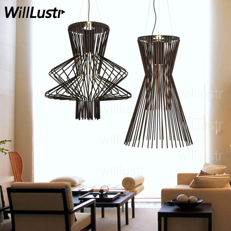 Willlustr Allegretto Ritmico Suspension lamp Allegro Pendant Light hanging lighting ATELIER Design Replica Foscarini restaurant willlustr murano due muranodue replica leucos deluxe suspension light white black glass diamond lighting hotel pendant lamp