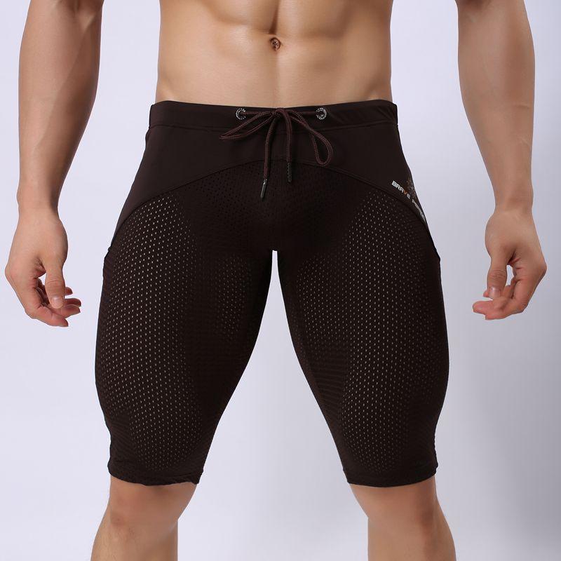 Surfing & Beach Shorts Für Männer Sexy Transparente Shorts - Sportbekleidung und Accessoires - Foto 5