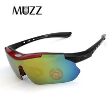 0287426dd5 MUZZ outdoor Myopia Prescription sunglasses 1 set 3 Lens Glasses Sets New  Mens Travel Sunglasses Gafas de sol lunettes sports m
