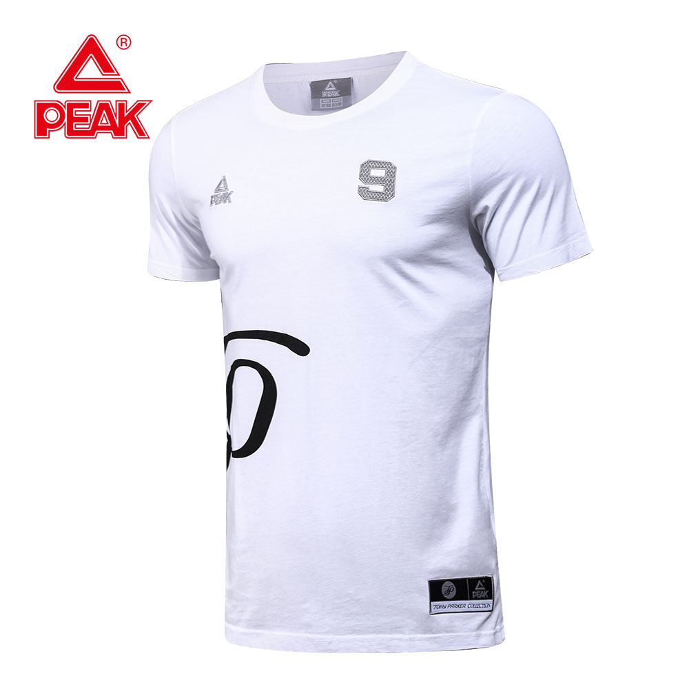 Peak Sports Tony Parker Men Sportswear Basketball T Shirt Printing
