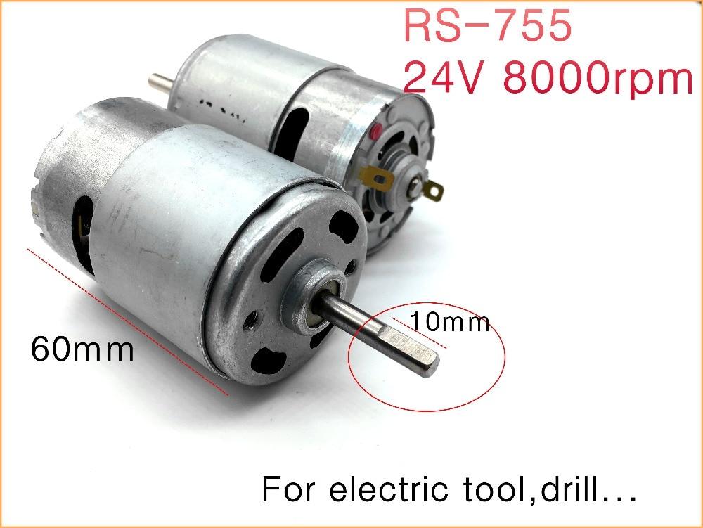 40e6d18b556 MABUCHI RS 755WC 9013 755 Electric Drill Saw High Speed Motor DC 12V ...