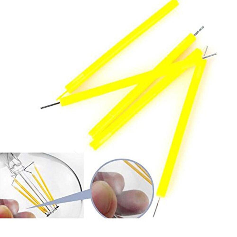 Filament Bulb Candle Light Source Lighting COB 5Pcs/Set LED Indoor Outdoor Bright DIY 1W Household Accessaries