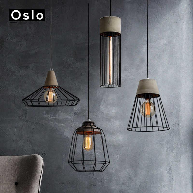 Американский Ретро промышленный подвесной светильник E27 железный подвесной светильник для ресторана кафе отеля домашнего внутреннего освещения Decoratio