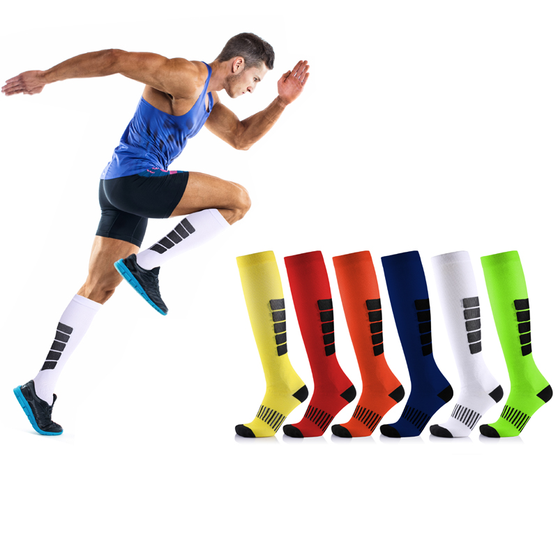 Compression Socks Men & Women   Fit Running,Nurses , Flight Travel & Maternity Pregnancy - Boost Stamina, Circulation & Recovery