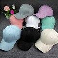 2017 limitada algodão unisex new adulto e sólida casuais camurça drake placa dobrada puro lazer chapéu boné de beisebol ajustável snapback
