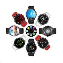 Kingwear kw88 3กรัมs mart w atchจีพีเอสsmart watch android 5.1 mtk6580 pedometerด้วยกล้อง2.0mpซิมการ์ดwifi relógioดีเซลนาฬิกา