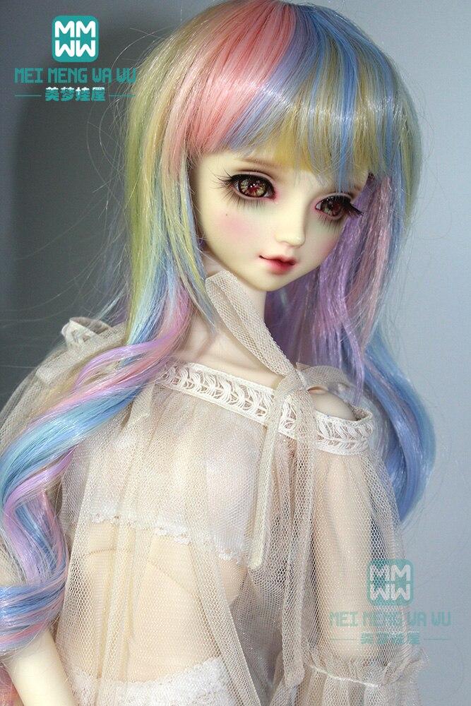 BJD Doll Clothes Accessories Doll Hair Underwear, Socks Hair Sets For 1/3 1/4 1/6 BJD DD SD YOSD Doll