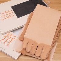 Export To Janpan Ultra Thin 2016 15d Five Toe Abdomen Drawing Butt Lifting Five Fingers Stockings