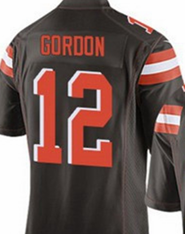 josh gordon jersey white