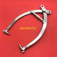 High Quality Stainless steel Large skull traction tong orthopedic Veterinary instrument tool
