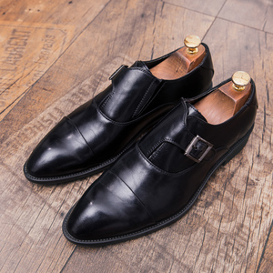 Image 3 - ZIMNIE Men Dress Shoes Formal Business Work Shoes Soft Genuine Leather Pointed Toe Shoes For Men Mens Oxford Flats Size 38 47