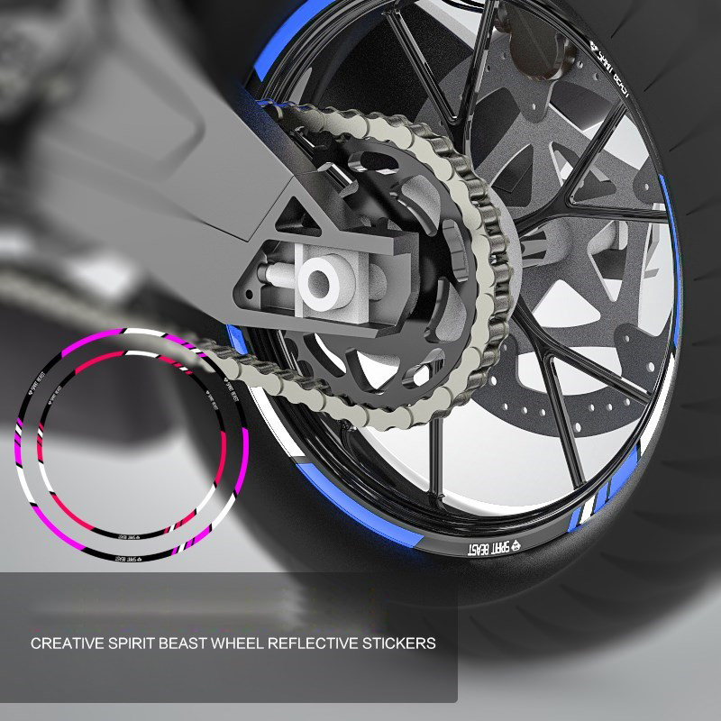 10 /& 12 INCH DIRT BIKE RIM PROTECTORS WHEEL DECALS TAPE GRAPHICS MOTORCYCLE