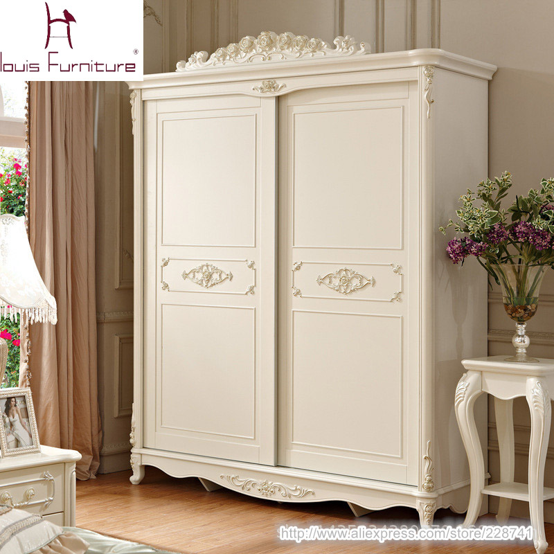 luxury french style ivory pricess wardrobe in wardrobes. Black Bedroom Furniture Sets. Home Design Ideas