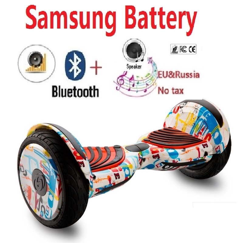 купить Electric scooter Self balance scooter Hoverboard Skateboard Blutooth speaker Remote key gyroscooter smart balance wheel scooter недорого