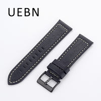 UEBN Leather Band For Samsung Gear S3 Classic Frontier Replacement Wrist Strap For Samsung S3 Watchband