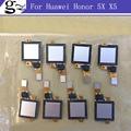 Escáner de huellas digitales para huawei honor 5x x5 gr5 id del sensor táctil botón de inicio volver flex ribbon cable reparación de piezas de reemplazo