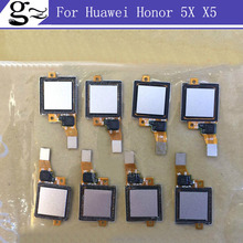 Fingerprint Scanner for Huawei Honor 5X X5 GR5 Touch Sensor ID Home Button Return Flex Cable Ribbon Replacement Repair Parts