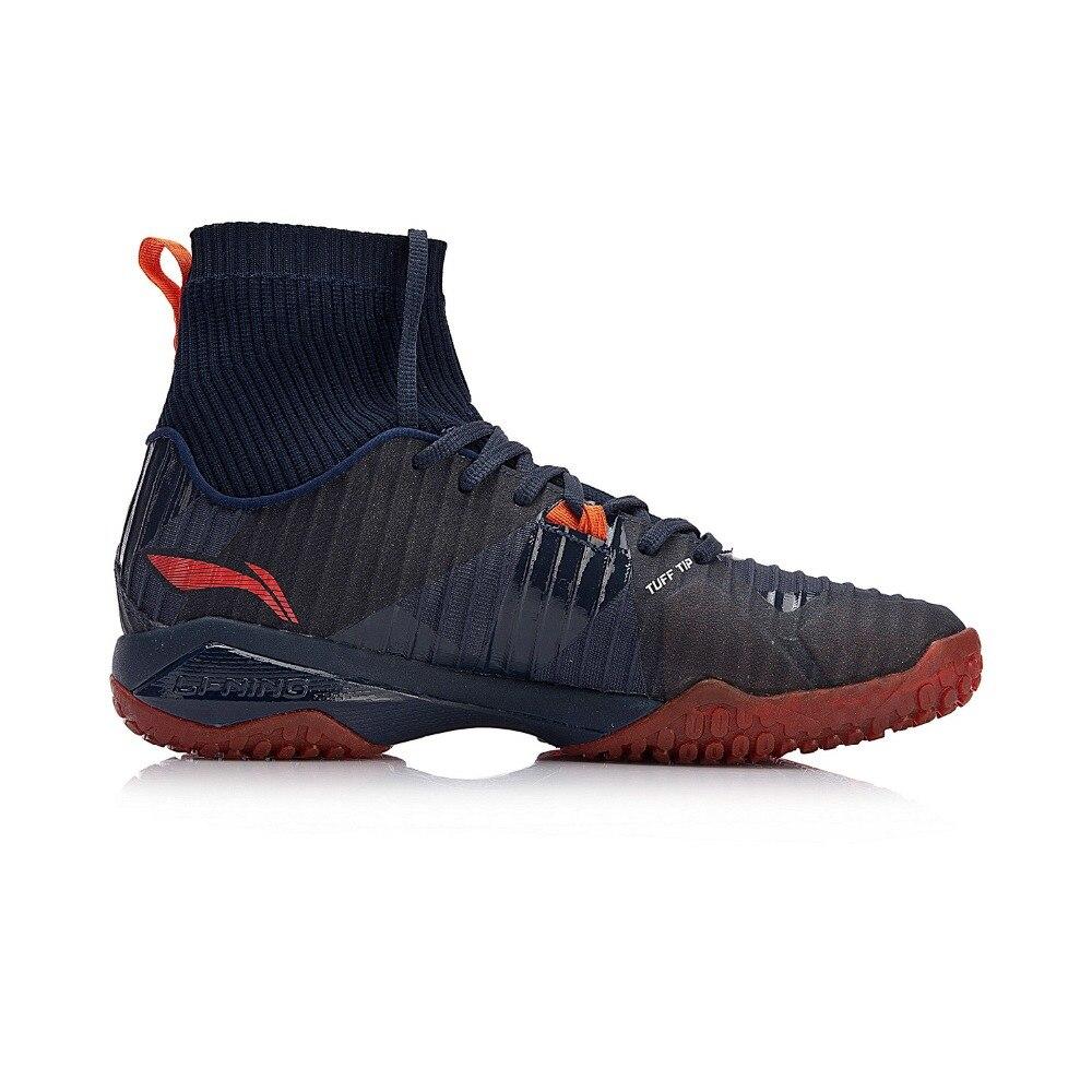 (Клиренс) Li Ning мужские тени лезвия PRO профессиональный бадминтон обувь BOUNSE + подкладка облако кроссовки спортивная обувь AYAN005 XYY079 - 3