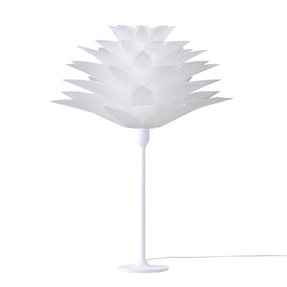 Nflc lotus shape diy ceiling lamp shade christmas decor for Homemade ceiling lamp