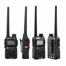 2PCS Original Baofeng UV-3R PLUS Mini UV-3R+ Walkie Talkie Dual Band Portable Two Way Radio Ham Transceiver UV 3R Interphone