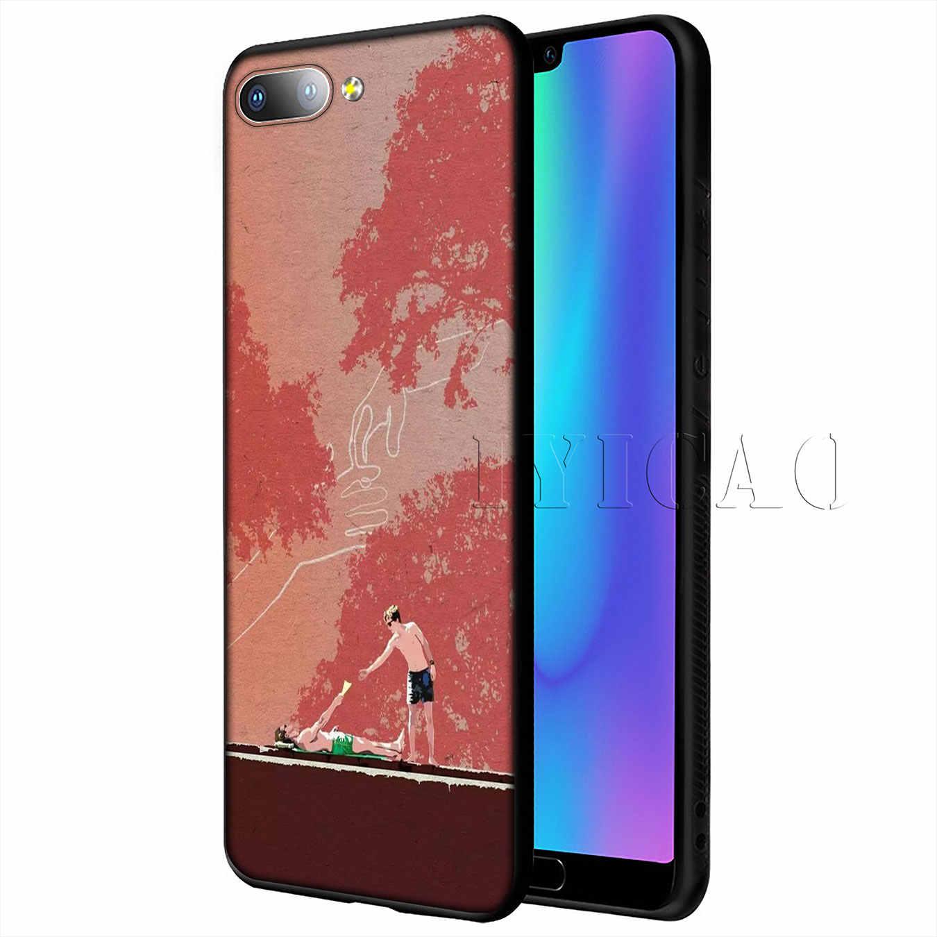 IYICAO お名前で私を呼び出すポスターシリコーン Huawei 社の P20 プロ P10 P8 P9 Lite ミニ 2017 1080p スマート 2019 カバー