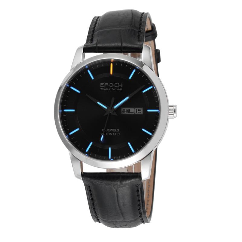 EPOCH 6023GN waterproof 100m tritium gas luminous mens business mechanical watch wristwatch