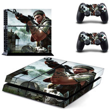 Vinly War Hero Skin Cover Sticker Cover for Sony PS4 PlayStation 4 and 2 controller skins