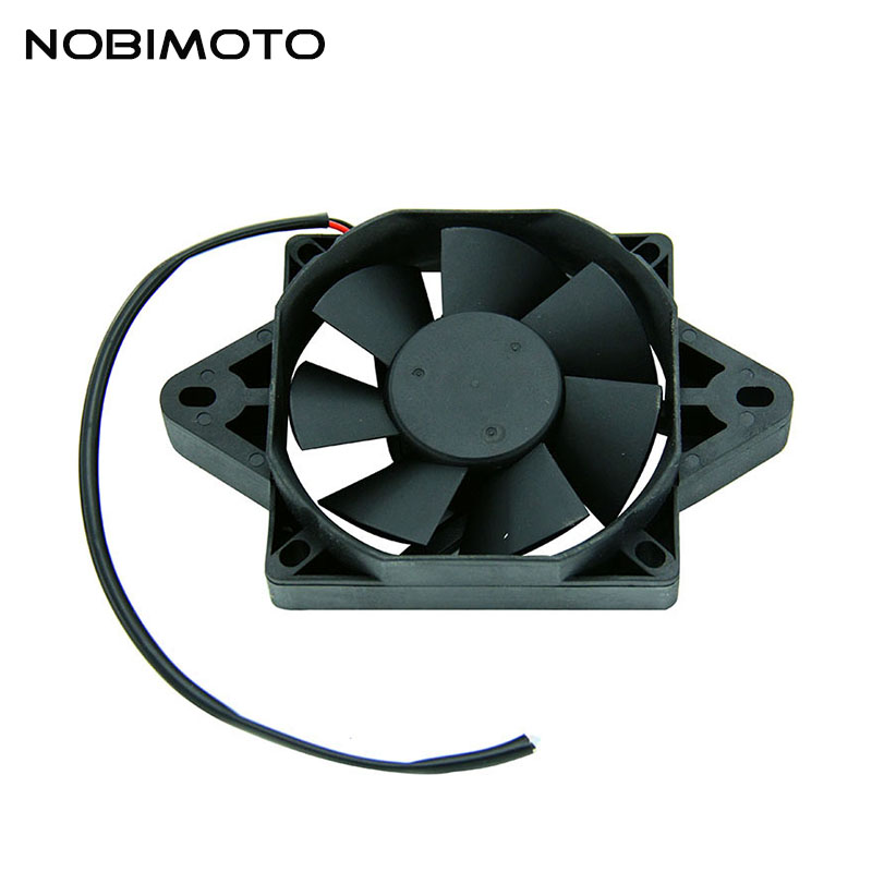 12 Volt Oil Cooler New Electric Radiator Cooling Fan For 200 250 cc Chinese ATV Quad Go Kart Buggy Dirt Bike Motorcycle FS-005 1000mm 2300mm dirt pit bike pocket bike monkey bike motorcycle scooter atv quad buggy go kart hydraulic brake oil hose oil pipe page 2