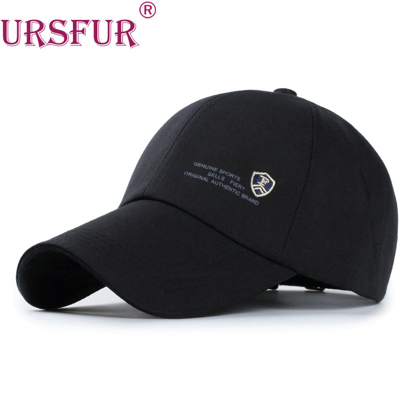 URSFUR Men Baseball Cap Women Snapback Casquette Hats Bone Gorras Polo Cap Solid color trucker hat Letter Shield design moto aetrue brand fashion women baseball cap men snapback caps casquette bone hats for men solid casual plain flat gorras blank hat