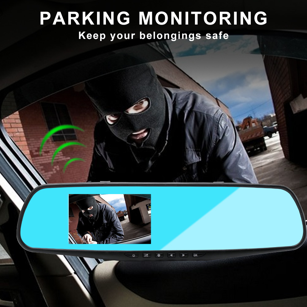 Image 4 - 1080P HD Car DVR Camera Drving Recorder 3.5 inch Blue Screen Motion Detection Wide Angle USB Video Auto Camera Automovil Cama-in DVR/Dash Camera from Automobiles & Motorcycles