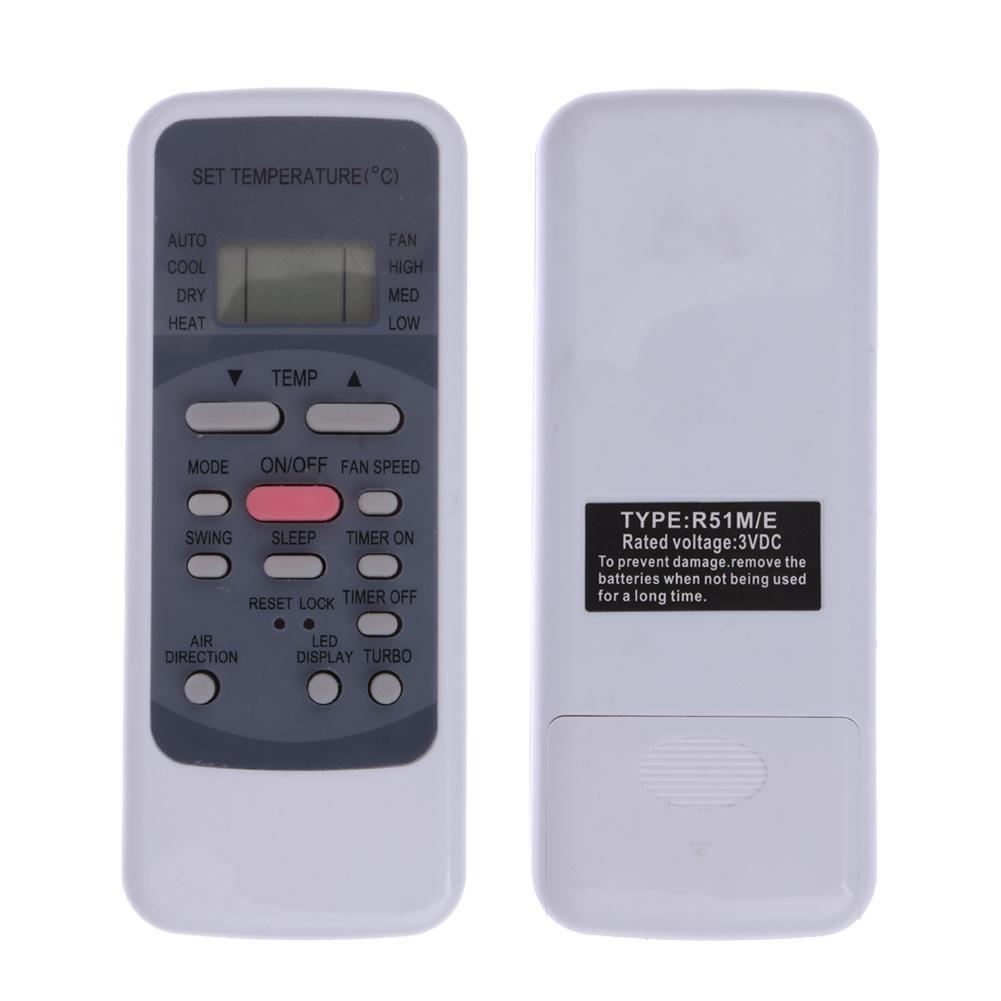 Image 2 - Remote Control for Midea Split Portable Air Conditioner Remote Control R51M/E for R51/E R51/CE R51M/CE R51D/E R51M/BGE-in Remote Controls from Consumer Electronics