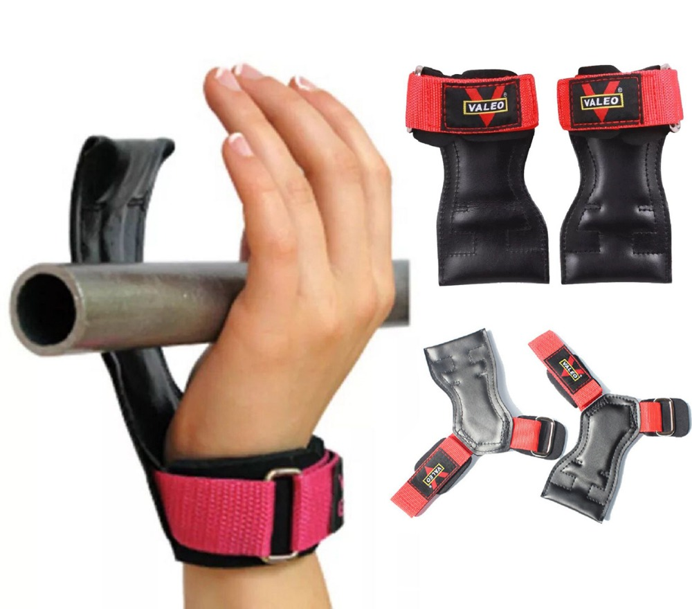 Cheap Fitness Gloves: Fitness Weightlifting Gloves Gym Grip Pads Wrist Wraps