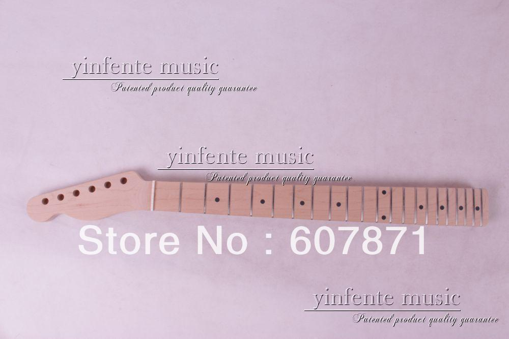 1 pcs left   Unfinished electric guitar neck   mahogany made maple  fingerboard 05# funry uk standard 1 gang 1 way smart wall switch crystal glass panel touch switch ac 110 250v 1000w for light