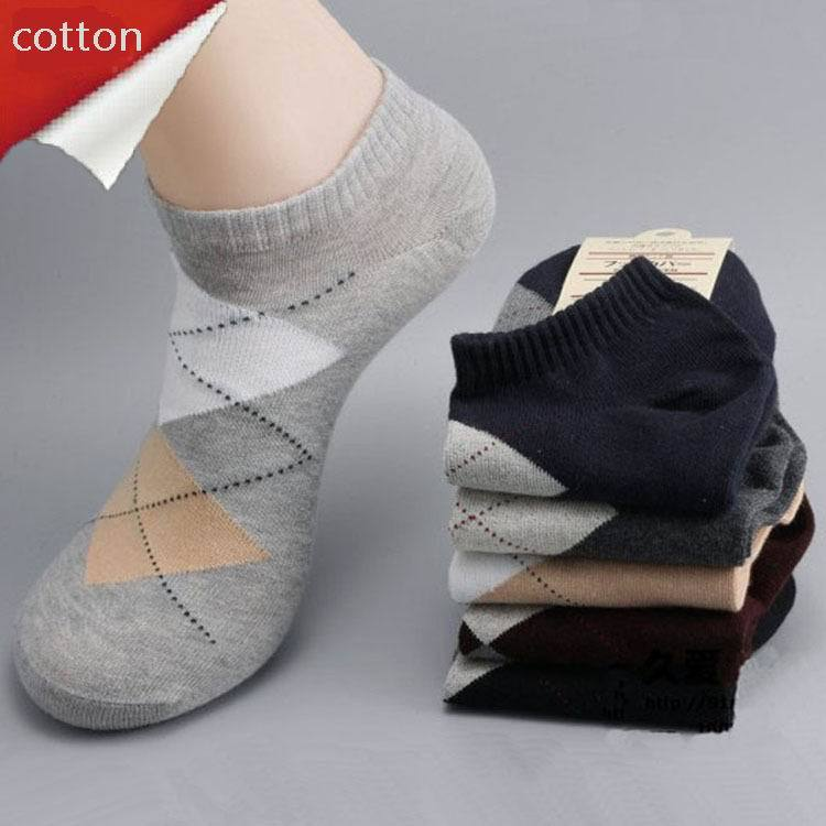 Free Shipping 7pairs/lot Mans Fashion cotton ankle Socks, high quality men sox soks mens sock low cut shallow mouth
