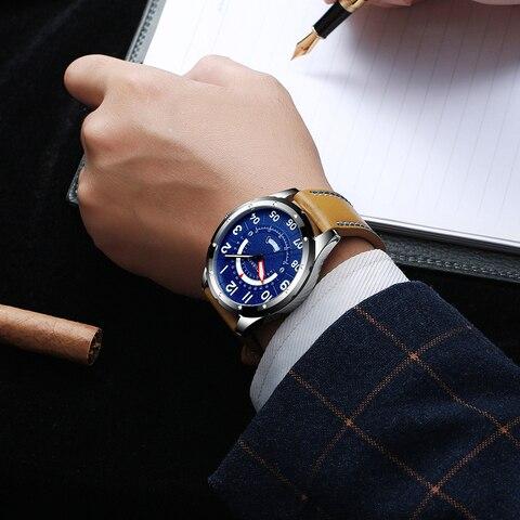 CURREN Wrist Watch Men Luxury Fashion Leather Watches for Men Clock Calendar Date Quartz Watch Male Casual Watch Karachi