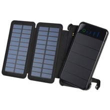 Wopow Solar Power Bank 20000 mah Solar Panel Portable Charger External Battery Universal Powerbank For iPhone For Xiaomi Phones