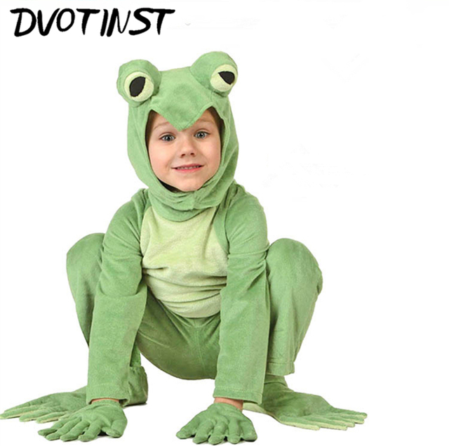 baby children clothes kids adorable child animals frog flower butterfly performance halloween party cosplay costume clothing