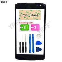 YRFF (Sem Tela Sensível Ao Toque) vidro exterior Para LG L Fino F60 D392 D290 D295 MS395 D390 Para LG G2 Lite Painel Frontal de Vidro