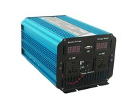 Free Shipping 800w Continuous 1600w Peak off grid Pure Sine Wave DC 12v to AC 220v LED Display transformer power inverter